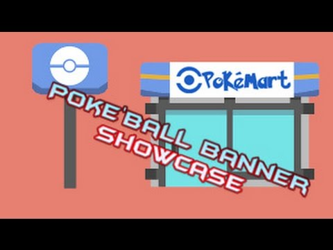 Making Decorative Poke'ball Banners In Minecraft??? | Banner Showcase Ep 1