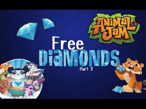 Animal Jam: How to Get Free Diamonds!!