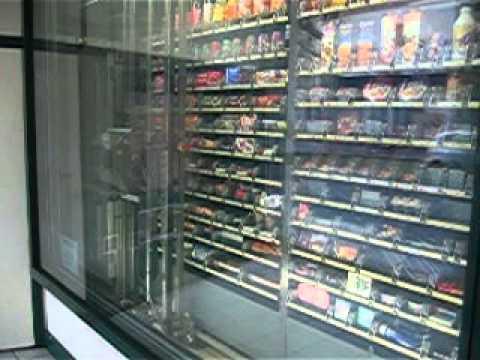 Automated Convenience Store - vending machine Lyon, France