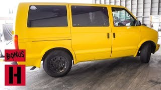 Kyle's Banana Yellow Love Bus Get's New Pipes! What's Next?