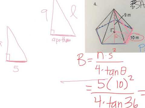 Surface area review #4
