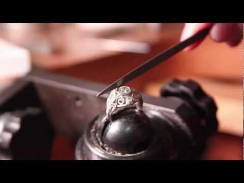 Handmade Engagement Ring by Dana Arts
