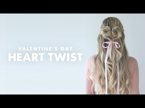 Trying a Pinterest-Inspired Heart Hairstyle