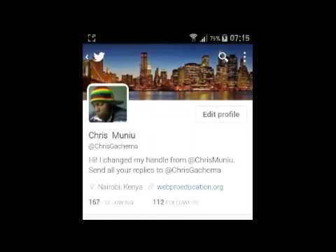 How To Change Twitter Cover Photo On Android