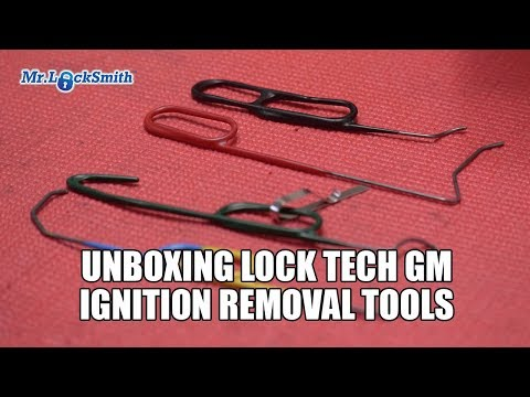 Unboxing Lock Tech GM Ignition Removal Tools | Mr. Locksmith Video
