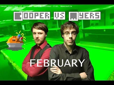 Magnetic Pie-Valry - Cooper vs. Myers - Snooker Showdown 2017 - Episode 2: February
