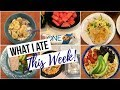 What I Ate this Week | 06/12-6/14 | Summer Goals I'm coming after you!