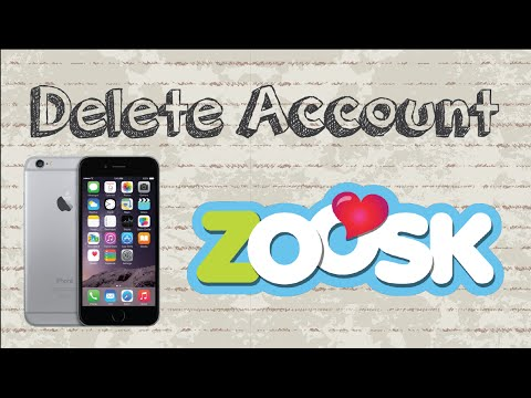 How to delete Zoosk account | Mobile App