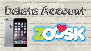 suspend zoosk account