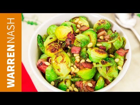 3 Ways to cook Brussel Sprouts - Fried, Steamed & Boiled - Recipes by Warren Nash