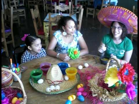 How to MakeTraditional Mexican Easter Eggs