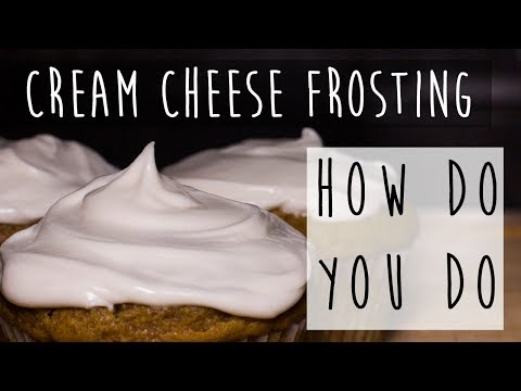 Simple Cream Cheese Frosting Recipe || Homemade is the Best Made