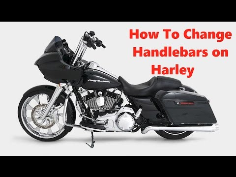 How To Replace Handlebars on Harley Davidson Road Glide