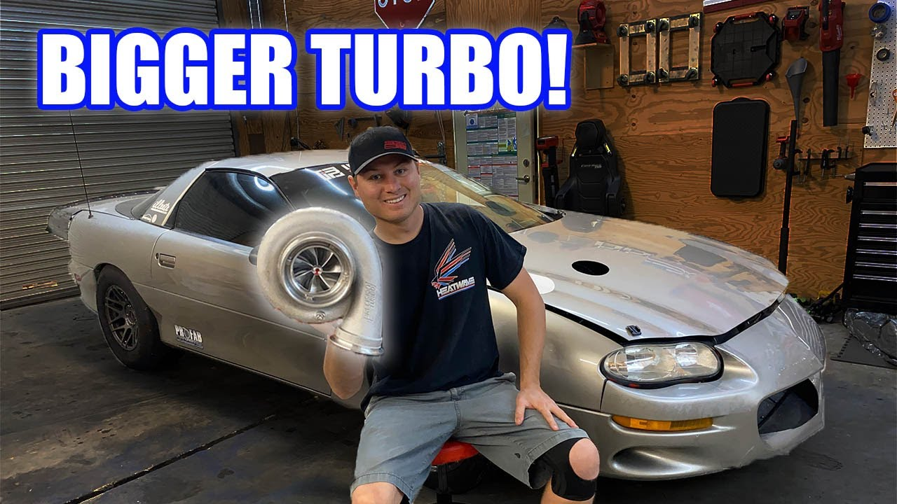2JZ Camaro Gets a New Turbo! The BIGGEST This Engine Will Ever See!