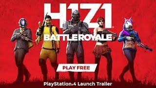 H1z1: Battle Royale - Playstation 4 Official Launch Trailer