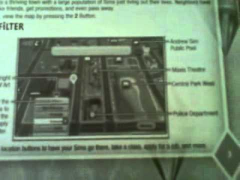 Sims 3 Wii Unboxing