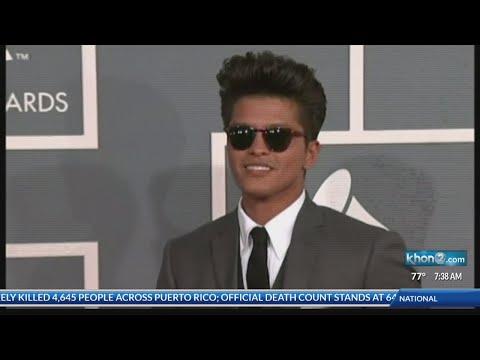 Bruno Mars coming to Hawaii in November