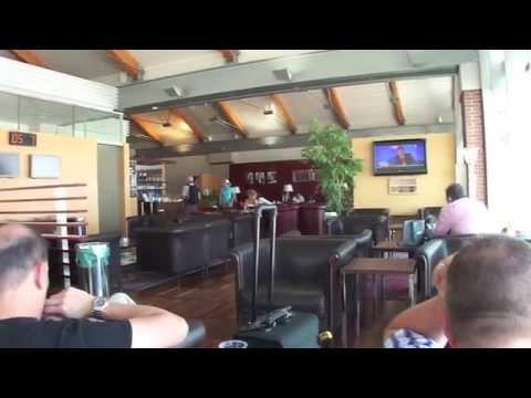 Marco Polo Lounge Venice Airport Italy / Venedig Italien POV