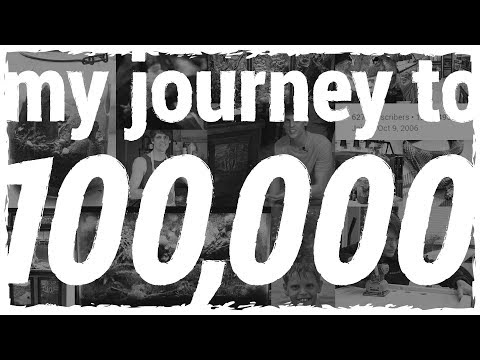 My Journey to 100,000 Subscribers