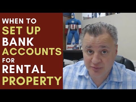 When to Set Up a Bank Account for Your Rental Property MM - 084 with Matt Faircloth