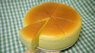 簡單 做 輕 乳酪 蛋糕 easy to make light cheesecake 含 脫模 自製鏡面膠 完美切片 示範 soft Japanese cotton