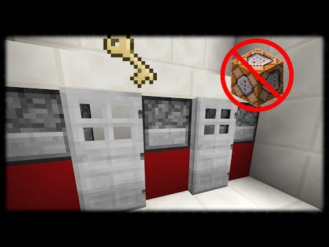 Minecraft PE | How to Make a Working School Locker