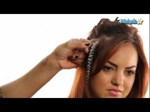 How to Do Feather Hair Extensions