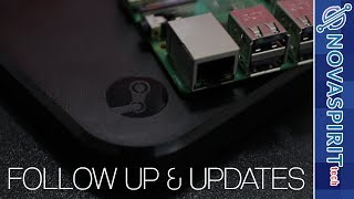 Updates - Monster Joystick & steam, Rpi Cluster, and more...