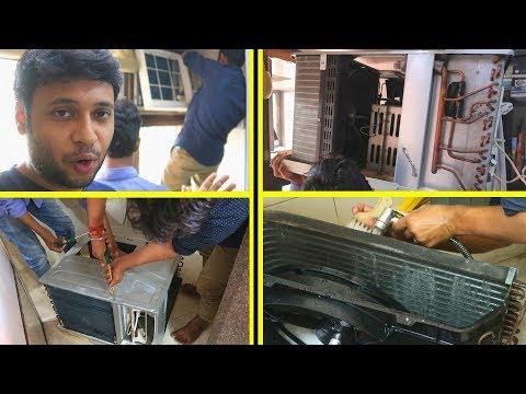 WINDOW AC WET SERVICE 750 Rs. [Hindi]