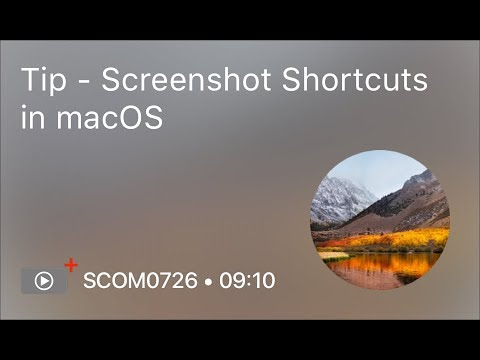 SCOM0726 - Tip - Screenshot Shortcuts in macOS