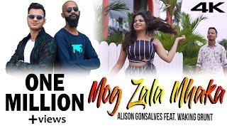 Konkani Song - MOG ZALA MHAKA - Alison Gonsalves Feat. Waking Grunt (Official Video)