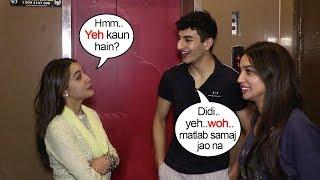 Sara Ali Khan Makes FUN of Brother Ibrahim Ali Khan & His Girlfriend as she Spots them during Kalank