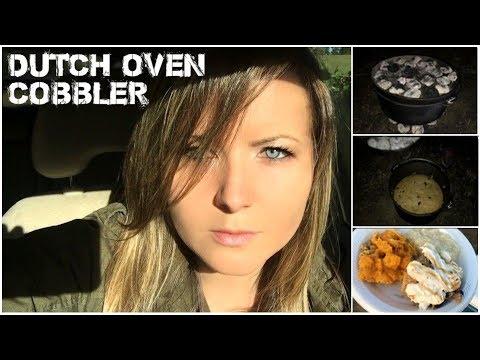 Dutch Oven Cobbler!