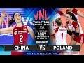 China Vs Poland Highlights Womens VNL 2019