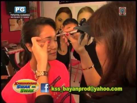 KAY PATRICK, (formerly Kay Rodriguez) AIRBRUSH DIVA on Kabuhayang Swak Na Swak