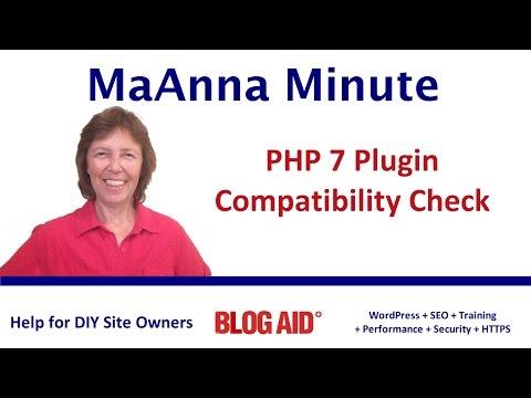Quick PHP 7 Plugin Compatibility Check