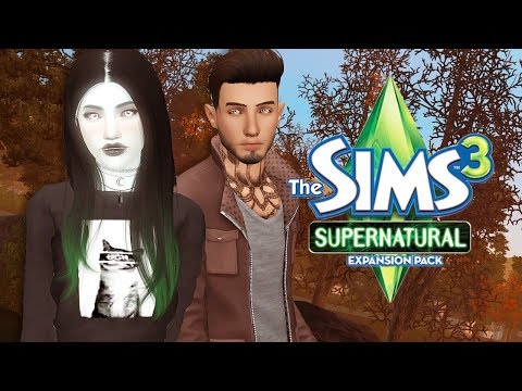 THE SIMS 3: SUPERNATURAL | [S2] PART 20 - Snowflake Day Baby! ❄️