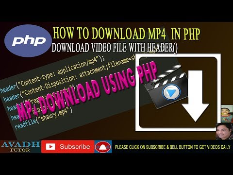 Xxx Mp4 Download Video File Using Php Download Mp4 File Using Php Php Tutorial Avadh Tutor 3gp Sex