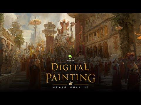 Digital Painting with Craig Mullins Trailer