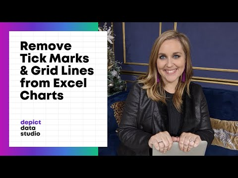 How to Remove Tick Marks and Grid Lines from Your Excel Charts