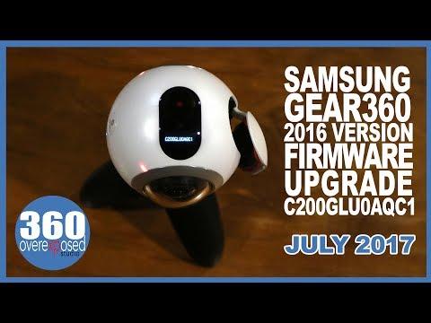 Gear 360 (2016) - Firmware Update - July 2017