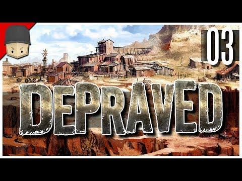 Depraved - Ep.03 : The Saloon, Moonshine & Winter! (WILD WEST CITY BUILDER)