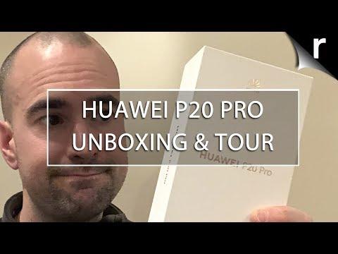 Huawei P20 Pro Unboxing & Full Tour