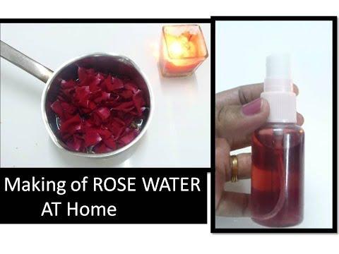 ROSE WATER  Making at Home | Simple way|