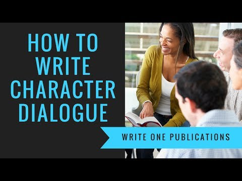 How To Write Character Dialogue That's Believable!
