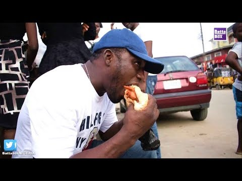 How To Eat Nigeria's Special Burger!