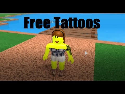 How to Get Free Tattoos in Roblox | Roblox High School