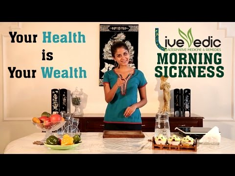 DIY: How To Cure Morning Sickness Naturally   LIVE VEDIC