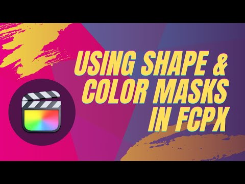 Shape and Color Masks in FCP X + Creating the Pleasantville/Breaking Bad Pink Bear Effect