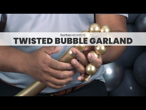 Quick Tip: Twisted Bubble Garland